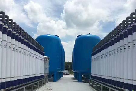化工行业用超纯水设备的工艺流程?