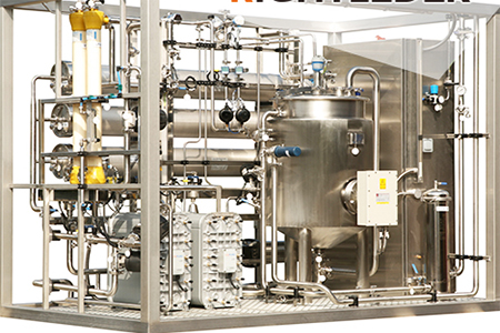 纯化水设备内部怎么清洁?