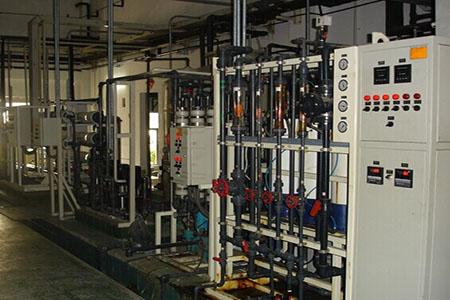 电子行业用水应用领域以及工艺设计