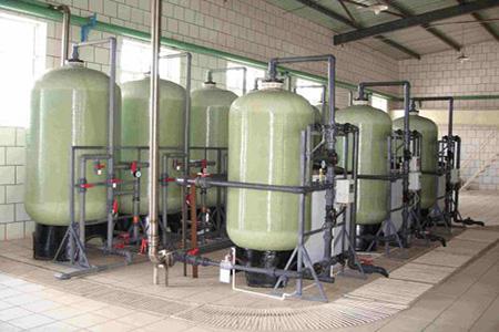 软化水设备工作流程