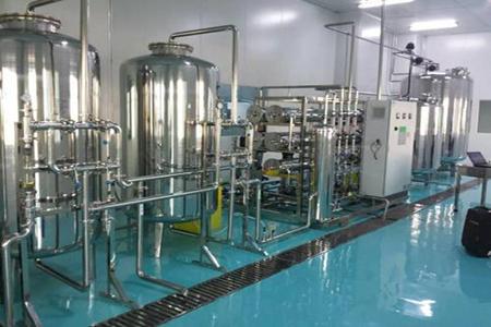 纯化水设备与注射水分配系统间设计?