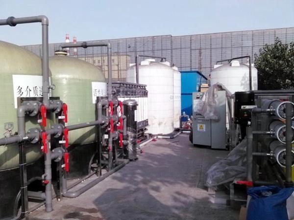 冷凝水回用系统