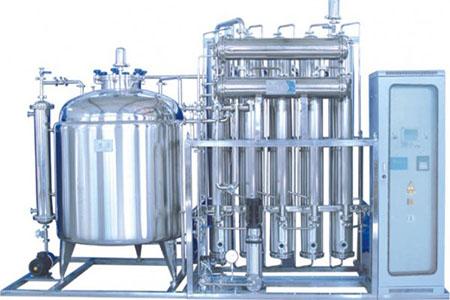 多效蒸馏水机工作原理以及清洗方法