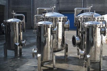 北京纯水设备有哪些组成?