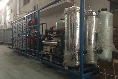 EDI纯水设备的工作原理和行业应用