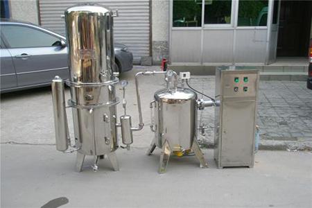 医用蒸馏水机使用说明